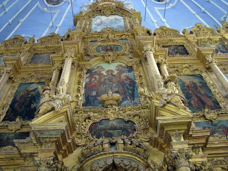 Икосностас Успенского собора