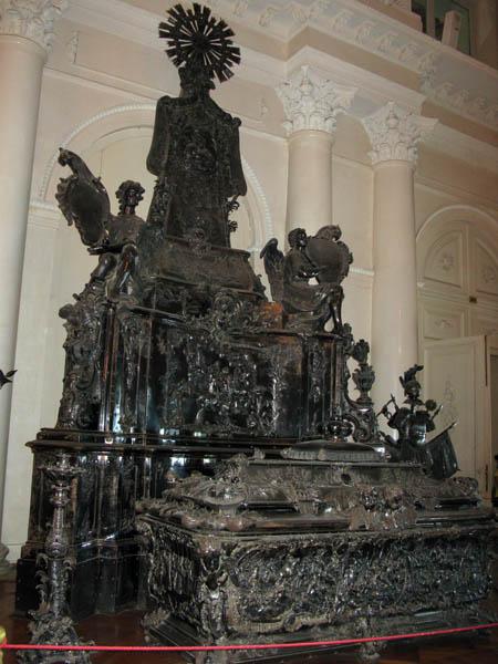 Гробница Александра Невского - Эрмитаж