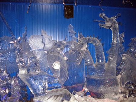 Выставка ледяных скульптур 2018
