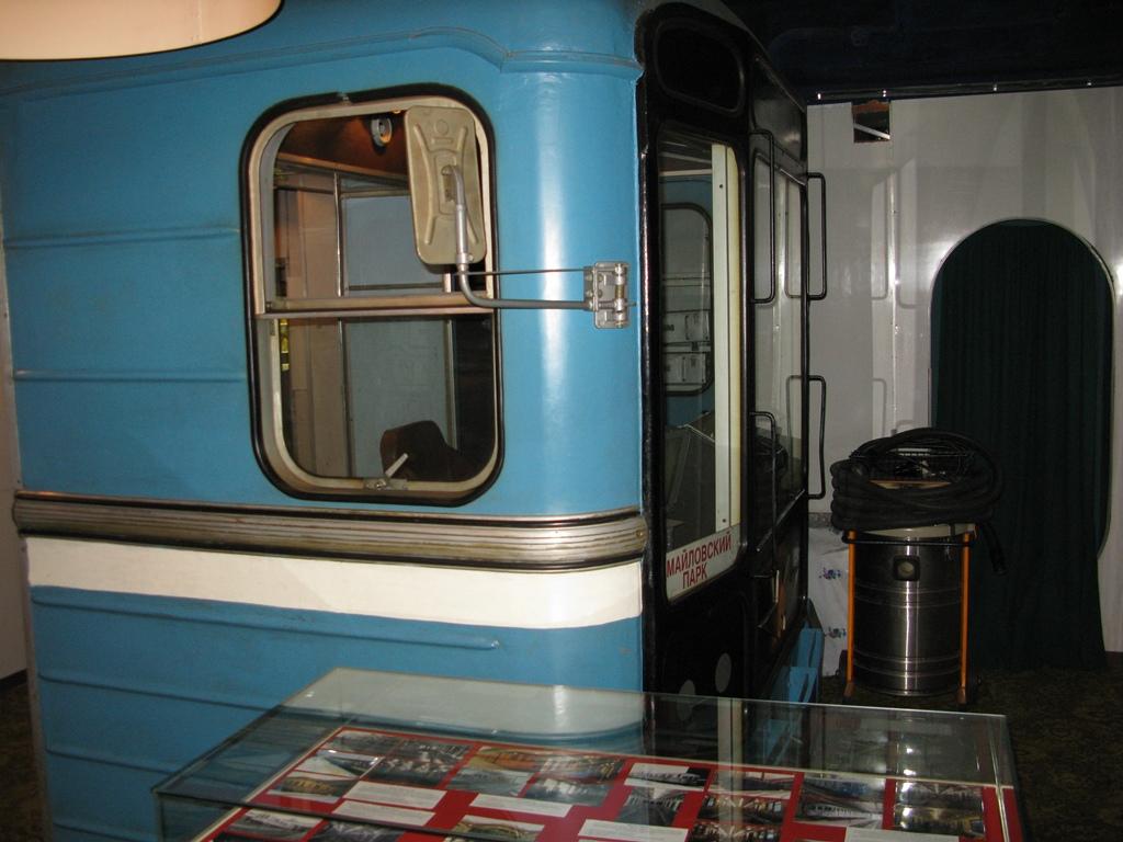 Место машиниста метро