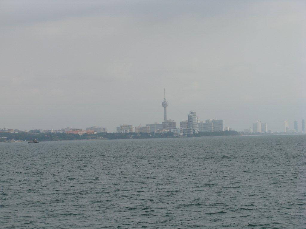 Паттайя, вид с моря