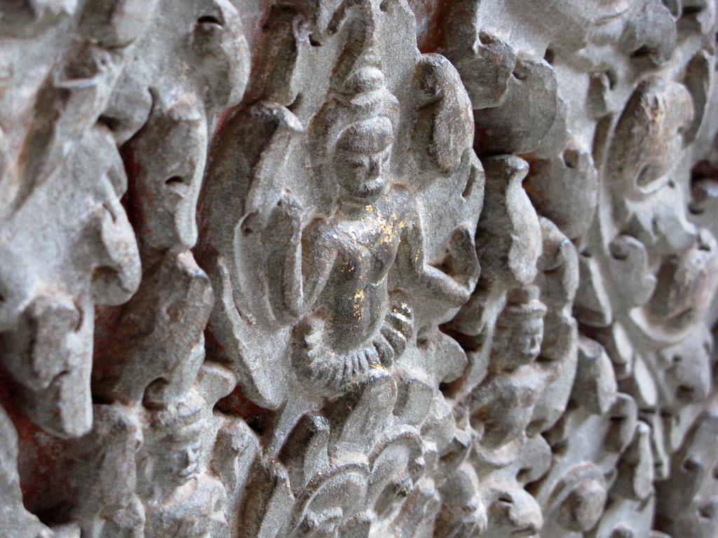 Барельеф в Ангкор Вате