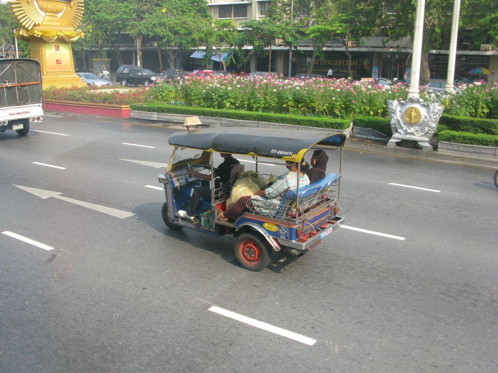 Тут-тук в Бангкоке