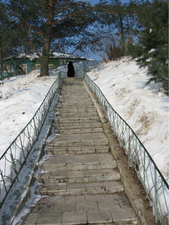 Лестница на земляные валы