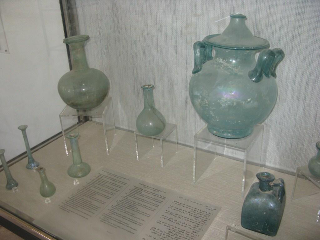 Стеклянная посуда Карфагена