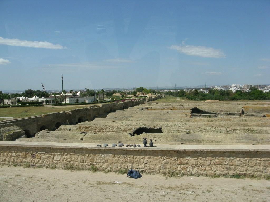 Резервуары для хранения воды в Карфагене