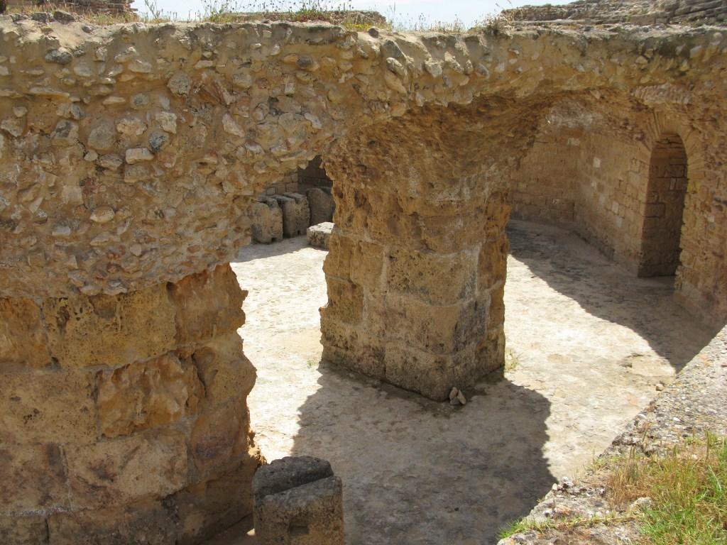 Развалины бань в Карфагене
